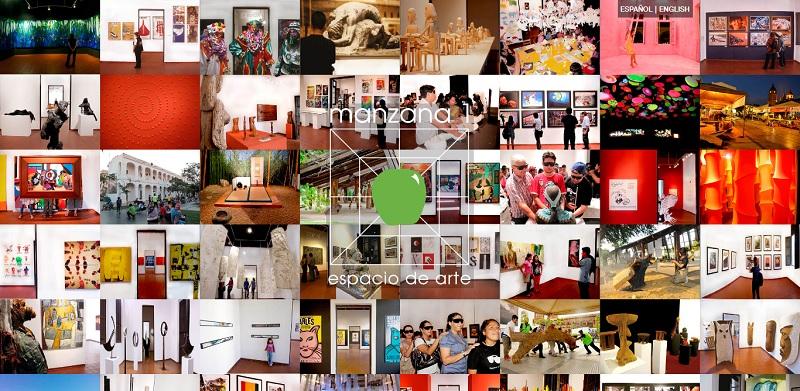 Sitio web para MANZANA UNO Espacio de Arte