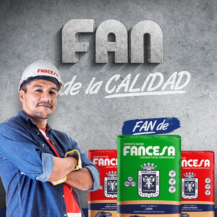 """""""Fan de Fancesa"""" para FÁBRICA DE CEMENTO SA"""