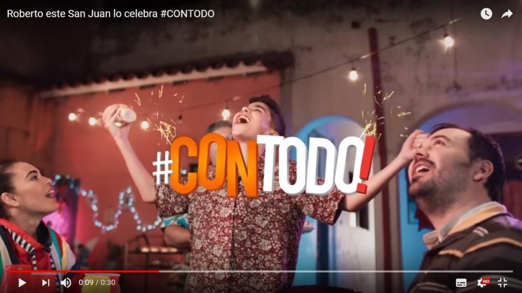 """""""San Juan con todo"""" para Salsas Kris"""