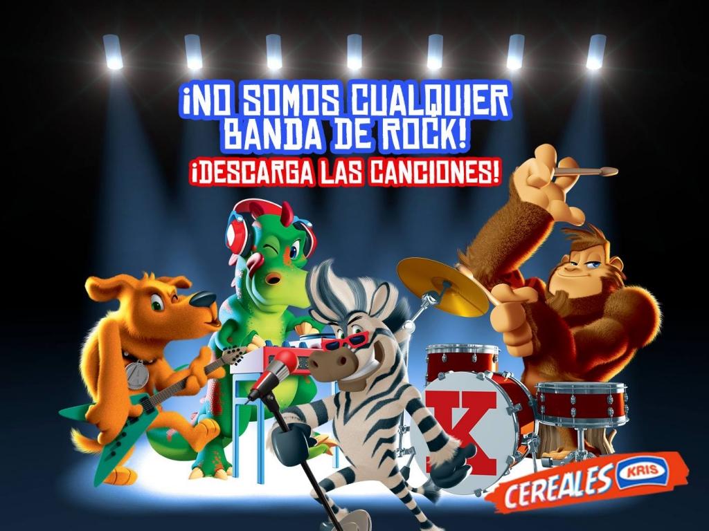 """""""Rockris"""" para Cereales Kris"""