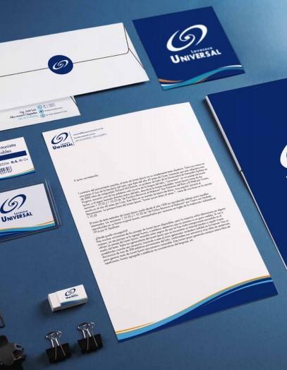 Identidad Corporativa para LAVASECO UNIVERSAL