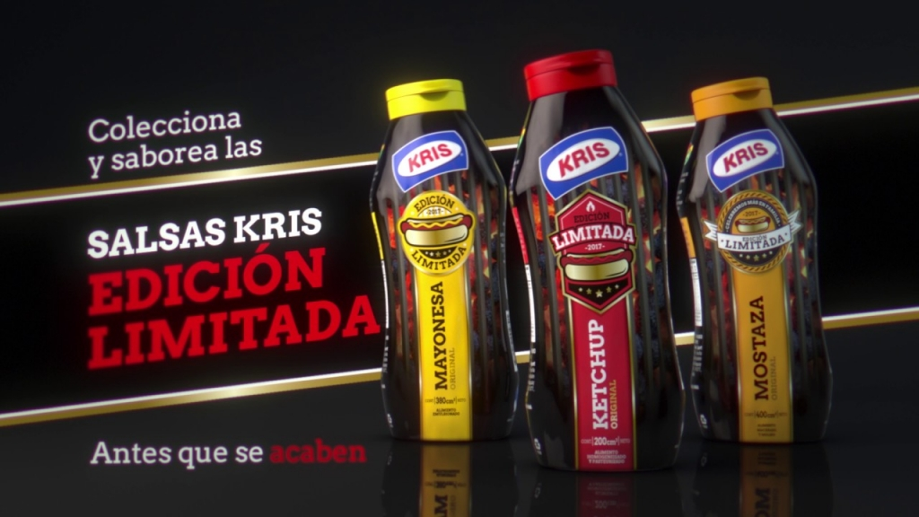 """""""Edición Limitada"""" para Salsas Kris"""
